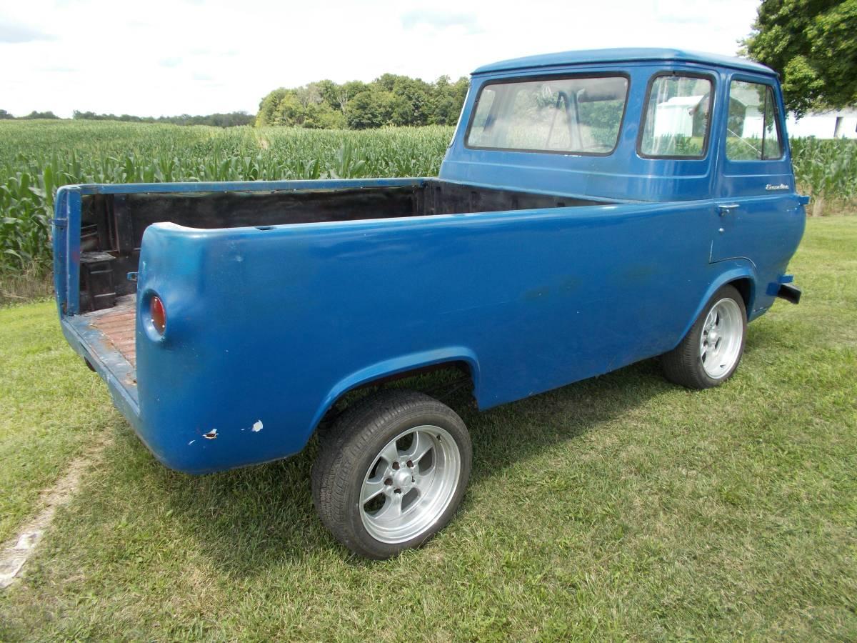 1961 ford econoline pickup for sale ohio autos post. Black Bedroom Furniture Sets. Home Design Ideas