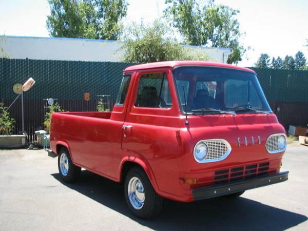 1961 Ford Econoline Pickup Truck For Sale Santa Rosa ...