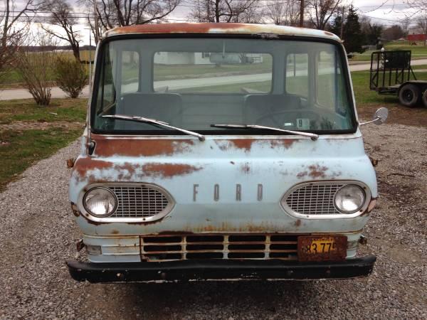 1962 Ford Econoline Pickup Truck For Sale Mount Vernon ...