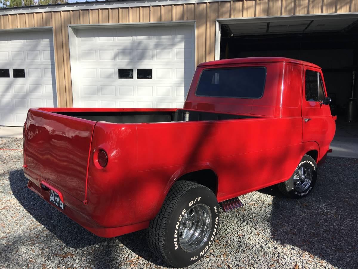 Restored 1962 Ford Econoline Pickup For Sale in Richmond ...