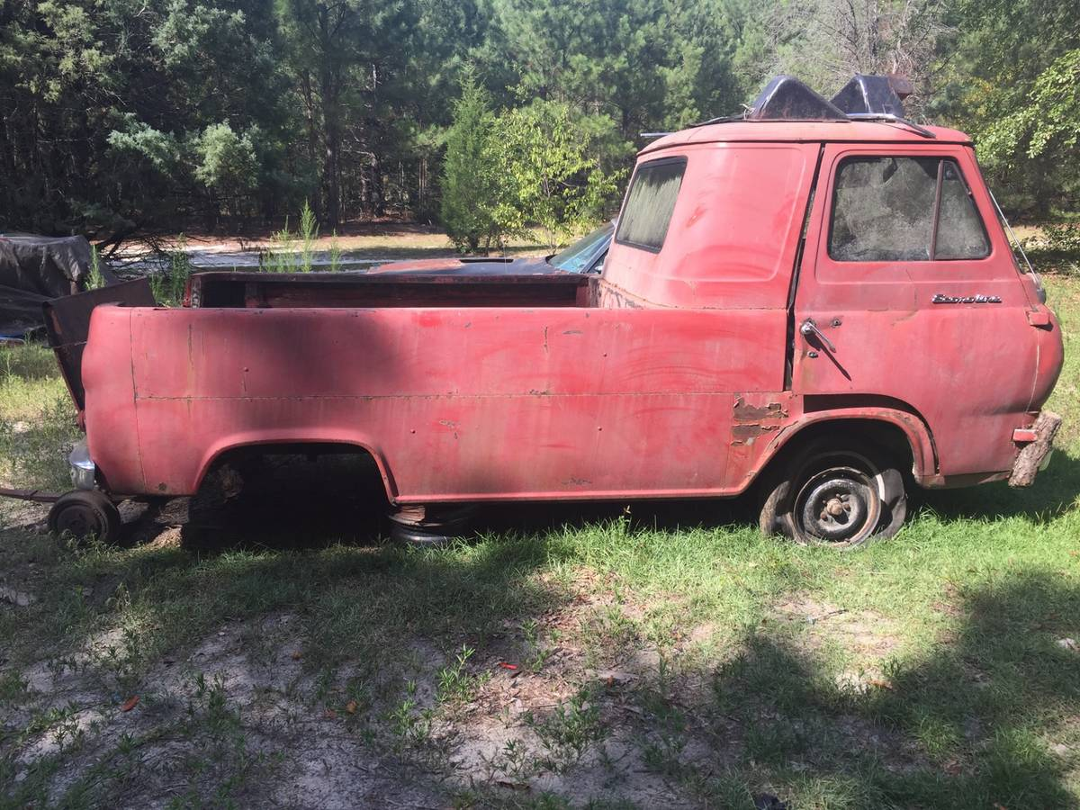 1962 Ford Econoline Pickup Truck For Sale Wagener, South ...