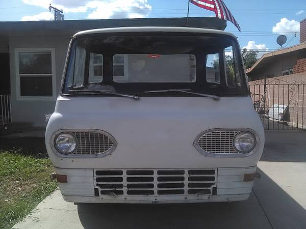 1962 Ford Econoline Pickup Truck For Sale Whittier, California