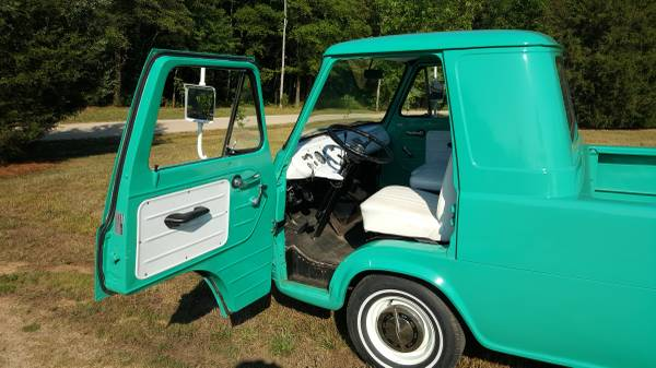 1963 Ford Econoline Pickup Truck For Sale Kannapolis