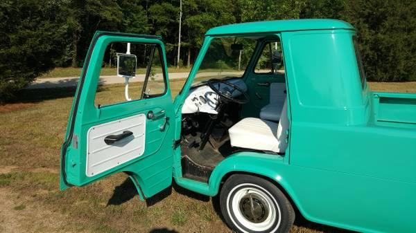 1963 Ford Econoline Pickup Truck For Sale Kannapolis North Carolina