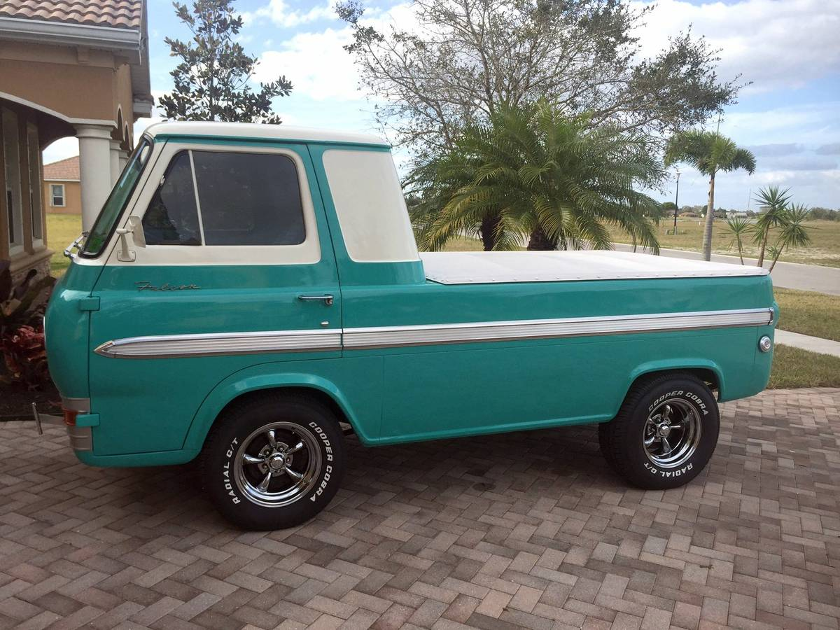 1963 ford econoline pickup for sale in naples florida 12k for Motor vehicle naples fl