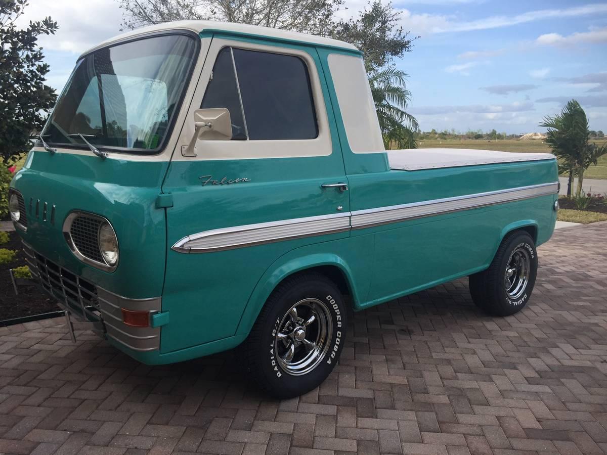 1963 ford econoline pickup truck for sale naples florida. Black Bedroom Furniture Sets. Home Design Ideas