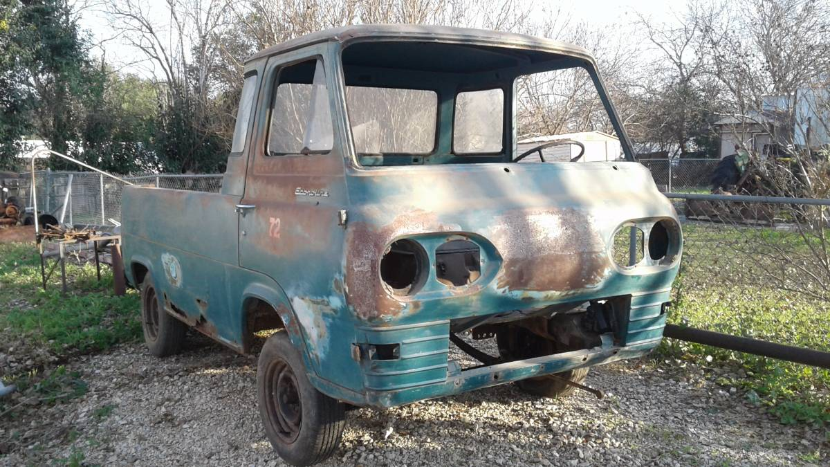 1963 ford econoline project w parts truck for sale in san antonio tx. Black Bedroom Furniture Sets. Home Design Ideas