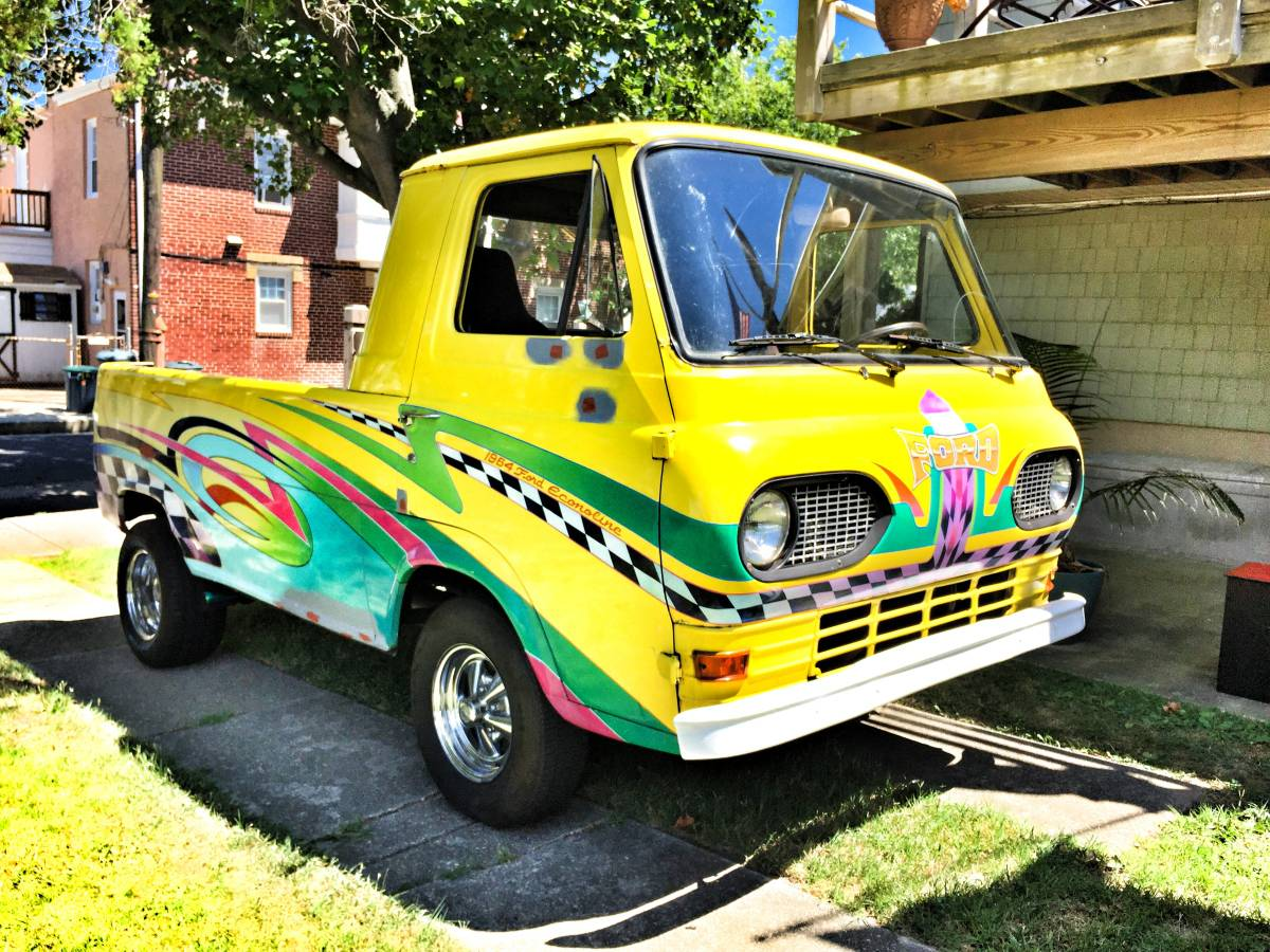 1964 ford econoline pickup truck for sale in ventnor new jersey. Black Bedroom Furniture Sets. Home Design Ideas