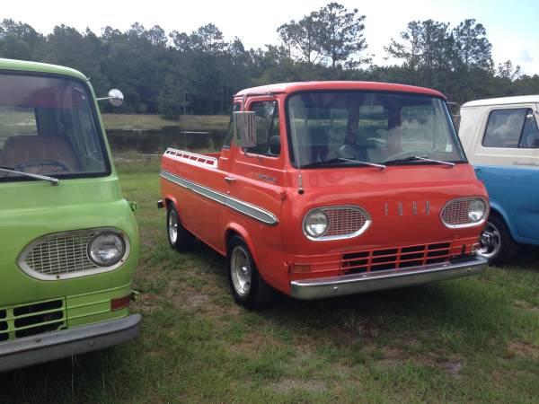 1965 ford econoline pickup truck for sale charleston south carolina. Black Bedroom Furniture Sets. Home Design Ideas