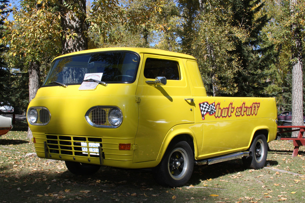 Ford Econoline Pickup Photo Gallery Pictures Images Vintage Ads