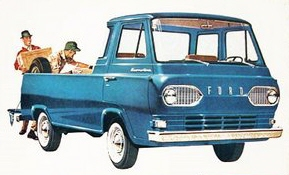 Ford Econoline Pickup Features  Specifications  Vintage Brochures