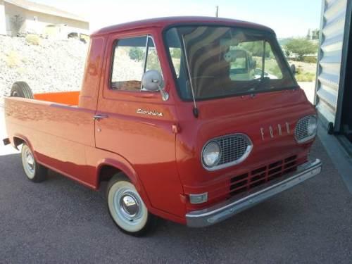 1961 Ford Econoline Pickup Craigslist Autos Post