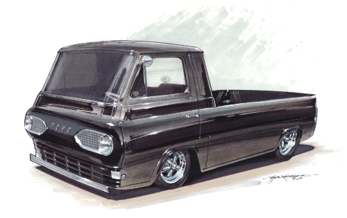 Econoline Illustration