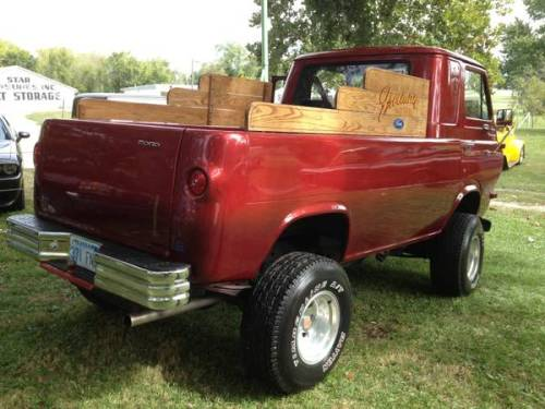 Ford Columbia Sc >> 1964 Ford Econoline Pickup w/ Bronco Chassis For Sale in ...