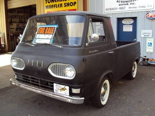 1961 ford econoline pickup truck for sale sylva north carolina. Black Bedroom Furniture Sets. Home Design Ideas