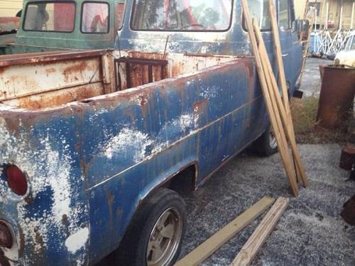 Auto Parts For Sale San Antonio Craigslist: 1965 Ford Econoline Pickup Truck Parts For Sale San