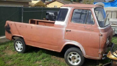 1962 Ford Econoline Pickup Truck For Sale San Diego ...
