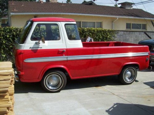 1965 Ford Econoline Pickup Truck For Sale Ventura, California