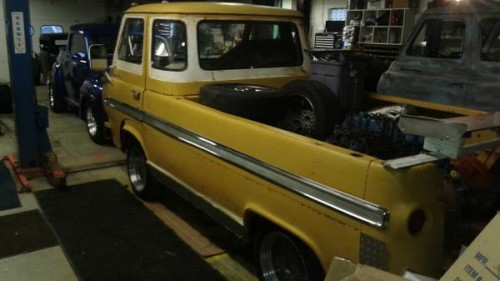 1961 Ford Econoline Pickup Truck For Sale Cleveland, Ohio