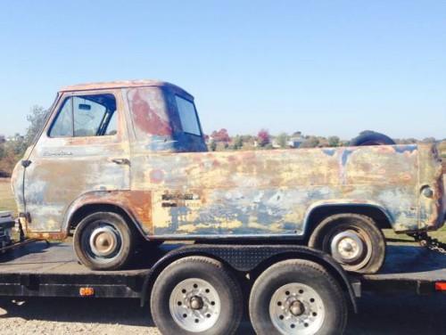 1961 ford econoline pickup truck for sale joplin missouri. Black Bedroom Furniture Sets. Home Design Ideas