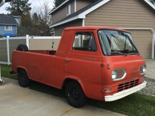 1961 Ford Econoline Pickup Truck For Sale Spokane, Washington