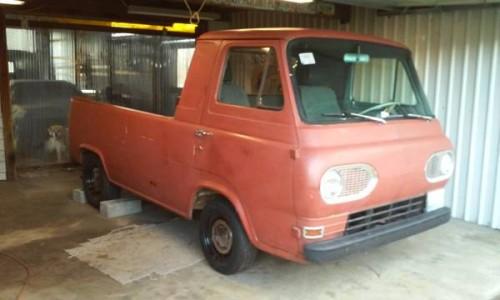 1963 ford econoline pickup truck for sale portland oregon. Black Bedroom Furniture Sets. Home Design Ideas