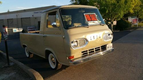 1964 ford econoline pickup truck for sale sacramento california. Black Bedroom Furniture Sets. Home Design Ideas