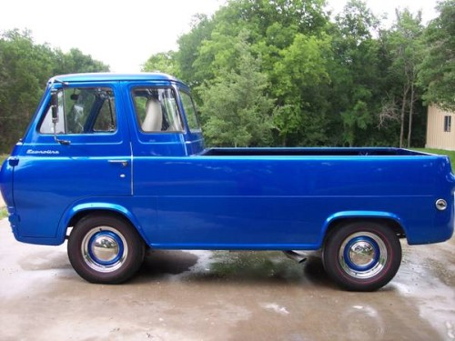 1961 ford econoline pickup truck for sale whitney texas. Black Bedroom Furniture Sets. Home Design Ideas
