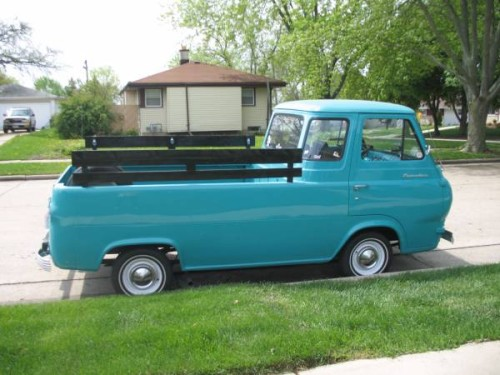 1962 Ford Econoline Pickup Truck For Sale Kenosha, Wisconsin