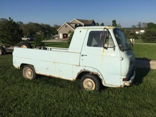 1963 ford econoline pickup truck for sale lincoln nebraska. Black Bedroom Furniture Sets. Home Design Ideas