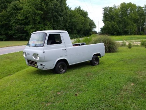 1961 ford econoline pickup truck for sale moyock north carolina. Black Bedroom Furniture Sets. Home Design Ideas