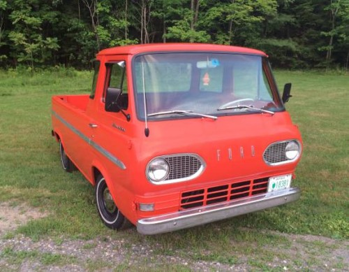 1966 Ford Econoline Pickup Truck For Sale New Hampshire