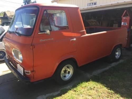 1961 Ford Econoline Pickup Truck For Sale Soledad, California