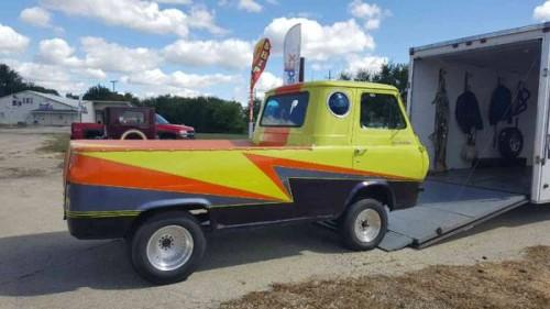 1961 ford econoline pickup truck for sale chicago illinois. Black Bedroom Furniture Sets. Home Design Ideas