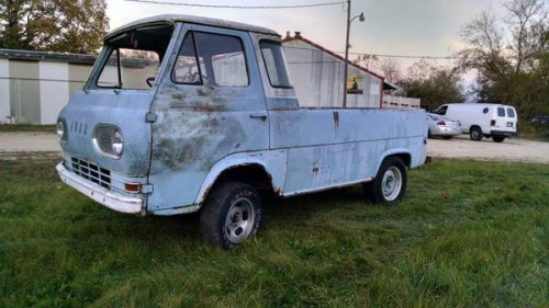 Fort Atkinson (WI) United States  City new picture : 1961 Ford Econoline Pickup Truck For Sale Fort Atkinson, Wisconsin