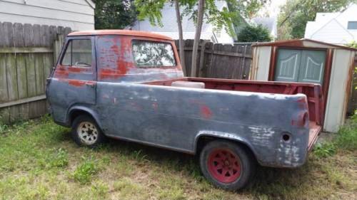 1961 ford econoline pickup truck for sale wichita kansas. Black Bedroom Furniture Sets. Home Design Ideas