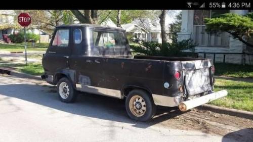 1963 ford econoline pickup truck for sale wichita kansas. Black Bedroom Furniture Sets. Home Design Ideas
