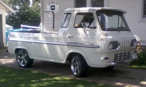 1965 ford econoline pickup truck for sale janesville illinois. Black Bedroom Furniture Sets. Home Design Ideas