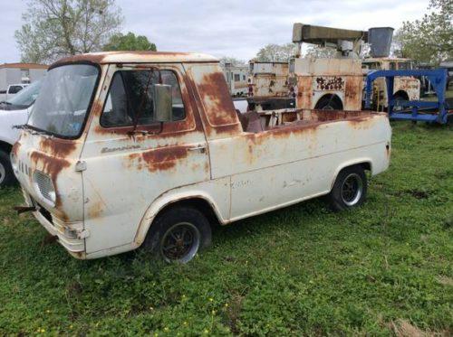 1961 Ford Econoline Pickup Truck For Sale Fort Smith, Arkansas