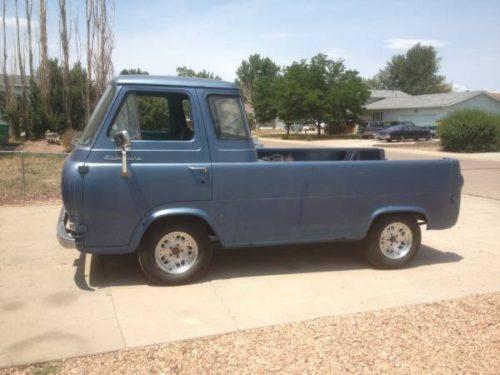1962 ford econoline pickup truck for sale evans colorado. Black Bedroom Furniture Sets. Home Design Ideas