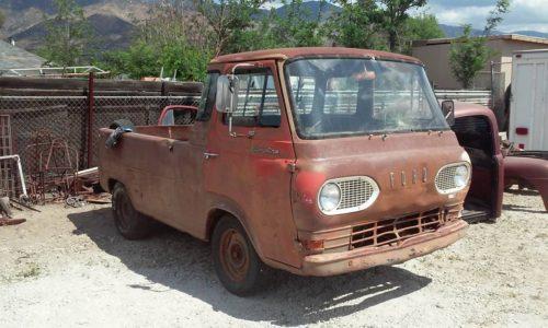 1967 ford econoline pickup truck for sale bakersfield california. Black Bedroom Furniture Sets. Home Design Ideas