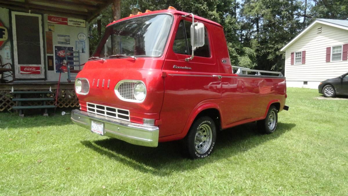Ford econoline pickup truck 1961 1967 for sale in north carolina 1962 v6 manual charlotte nc sciox Choice Image