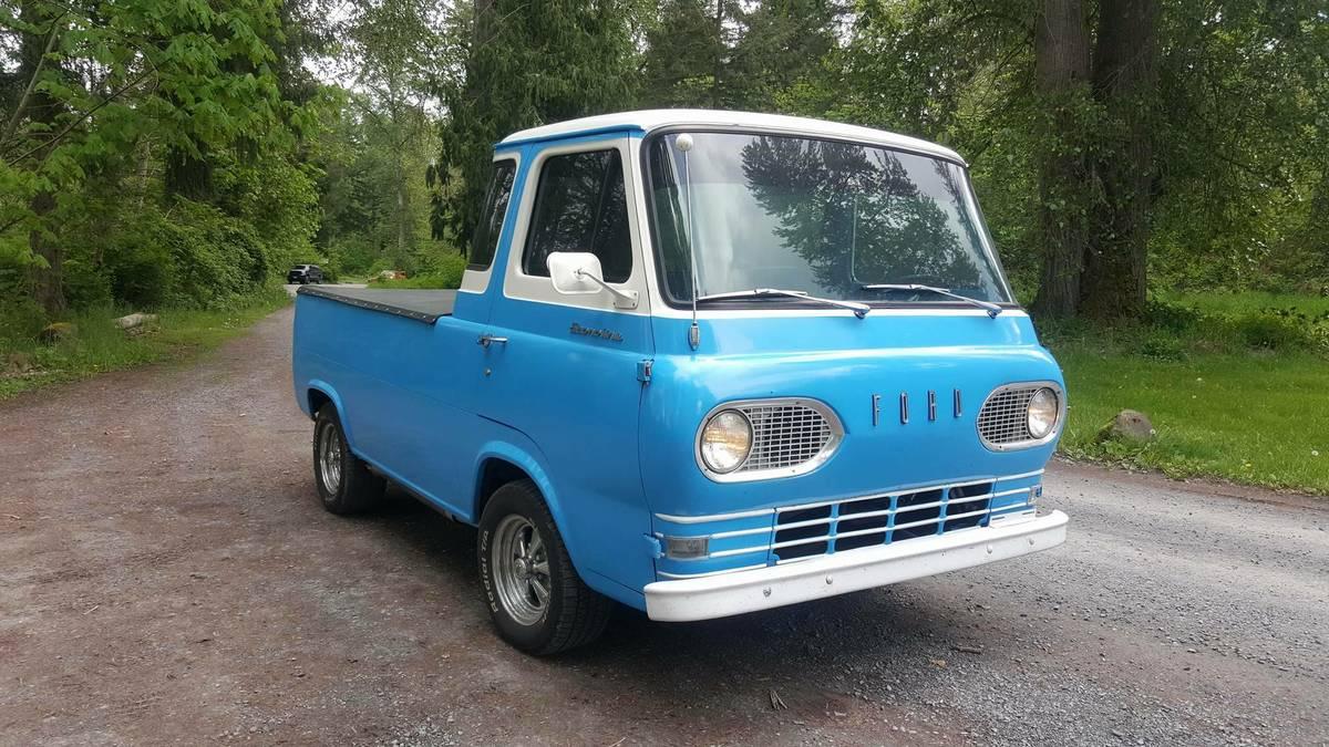1962 Ford Econoline Pickup Truck For Sale Eatonville Washington