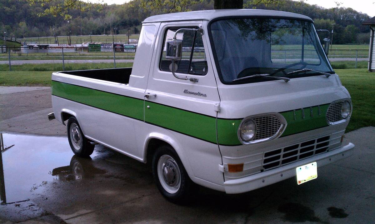 1961 ford econoline pickup truck for sale new philadelphia oh 11k. Black Bedroom Furniture Sets. Home Design Ideas