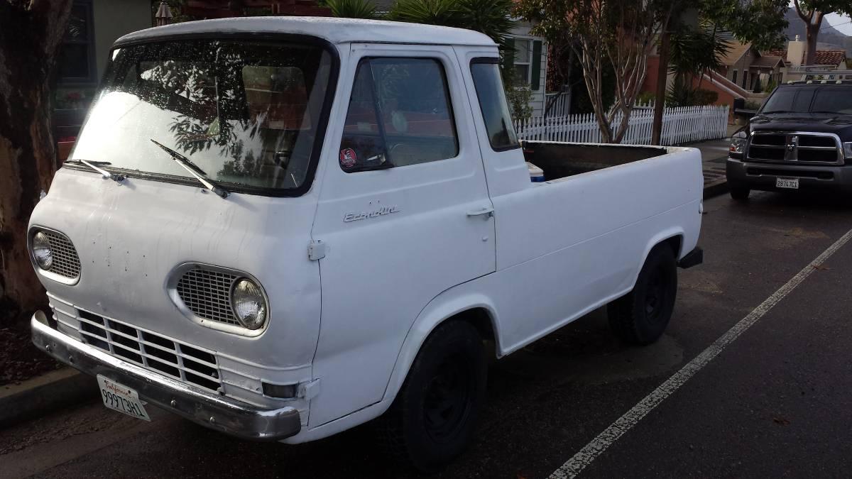 1961 ford econoline 5 window pickup for sale in san luis obispo ca. Black Bedroom Furniture Sets. Home Design Ideas