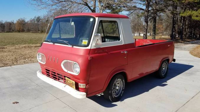 Ford econoline pickup truck 1961 1967 for sale in north carolina 1963 truck 144 cyl archdale nc sciox Choice Image