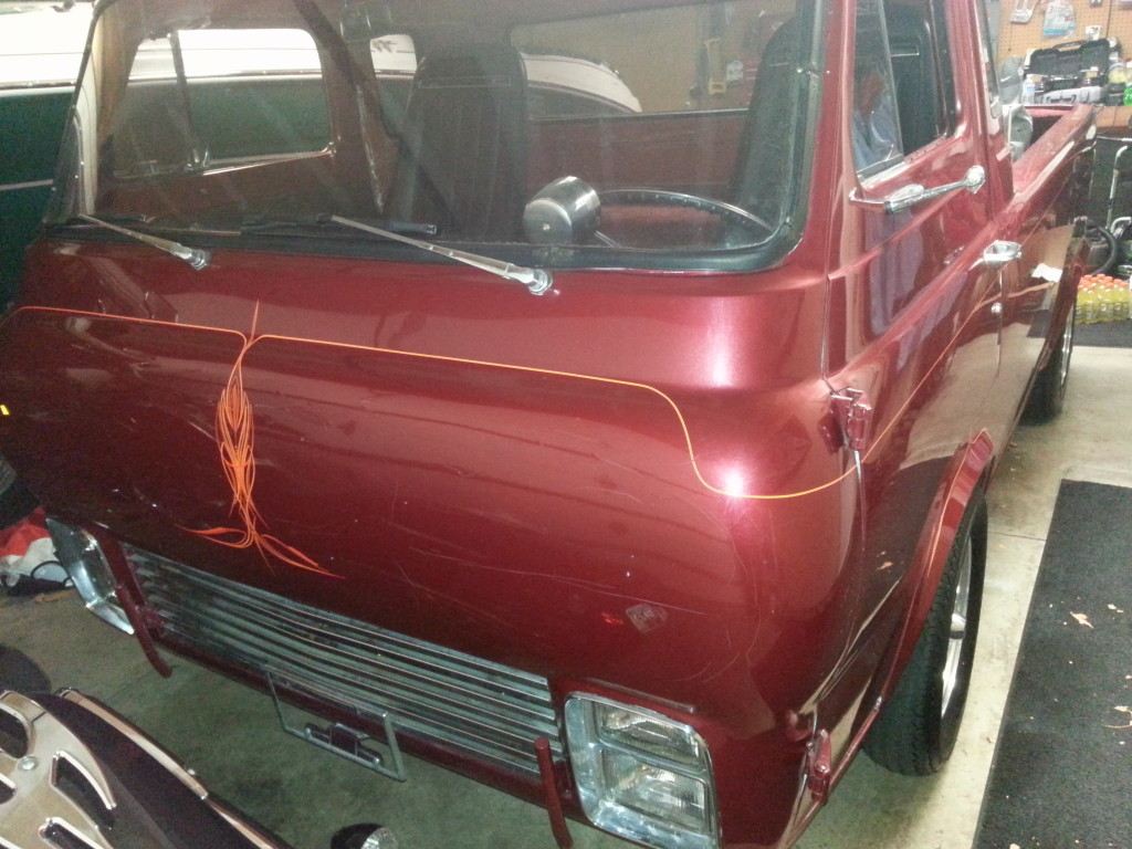 1962 ford econoline pickup custom street rod for sale in columbus ohio. Black Bedroom Furniture Sets. Home Design Ideas